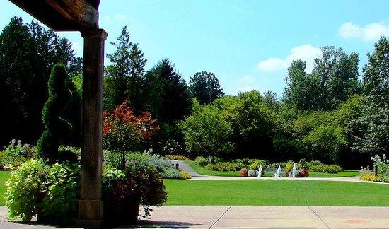 Klehm Arboretum U0026 Botanic Garden: View From Pavillion