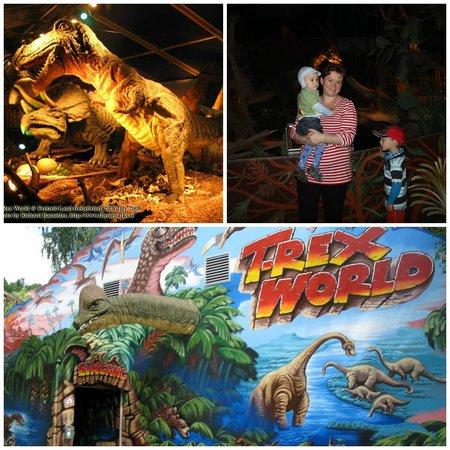 Freizeit-Land Geiselwind: Вход в павильон динозавров