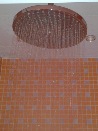 Hotel du Parc: doccia SUPER