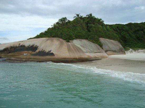 Naufragados Beach