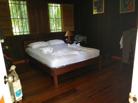 La Baula Lodge : Very large and comfortable room