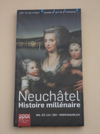 Casino Neuchâtel: Museu de Belas Artes