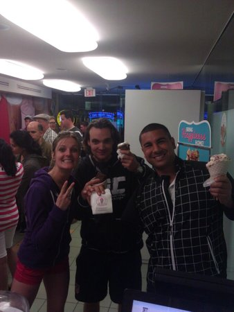 Marble Slab Creamery: first time