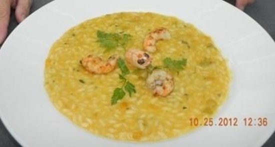 Maio Restaurant : Seafood risotto
