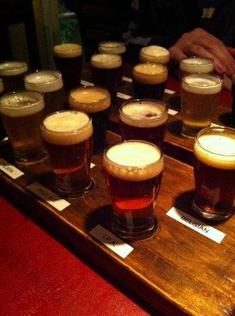 Cervecería Manush: menu degustação