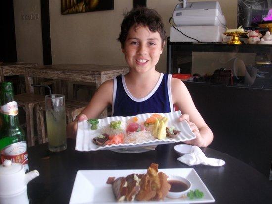 ZUSHIYA Modern Japanese Dining: My son the Sushi lover
