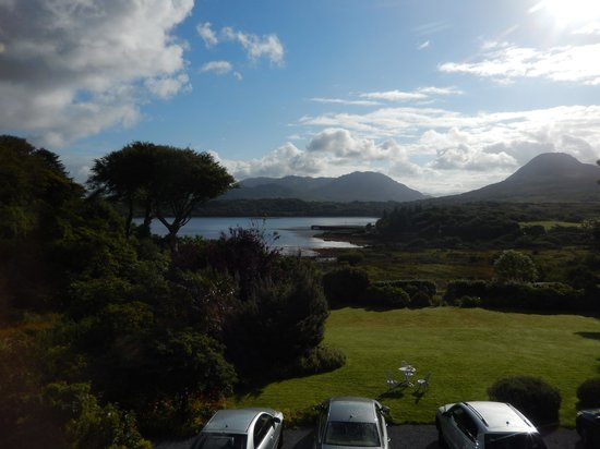 Rosleague Manor Hotel: A stunning view on our first morning