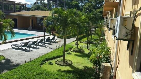 Hotel Molina: area verde