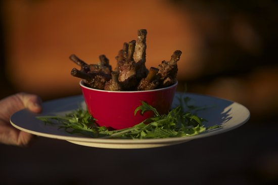 The Kool Spot Cafe: Asian spiced duck shanks