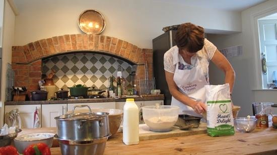 County Kilkenny, Ireland: Richenda in her beautiful kitchen