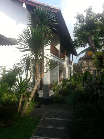 Ubud Bungalow: new rooms towards the front