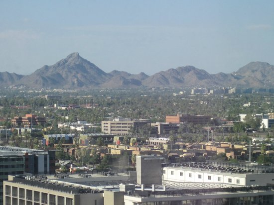 Sheraton Grand Phoenix: View from my room