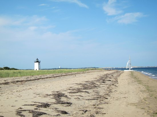 Long Point: Walking towards the end of Longpoint