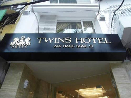 Hanoi Twins Hotel: entrance