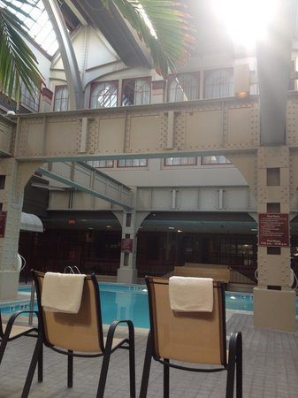 Crowne Plaza Indianapolis Downtown (Union Station): Beautiful pool area