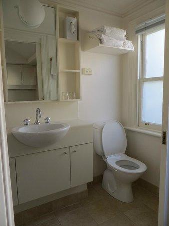 169 Drummond Street: The bathroom