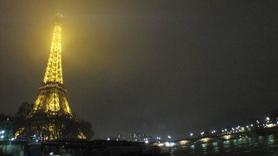 Paris 'Musts' - City Tour, River Seine Cruise and Lunch : View from the River Seine Cruise