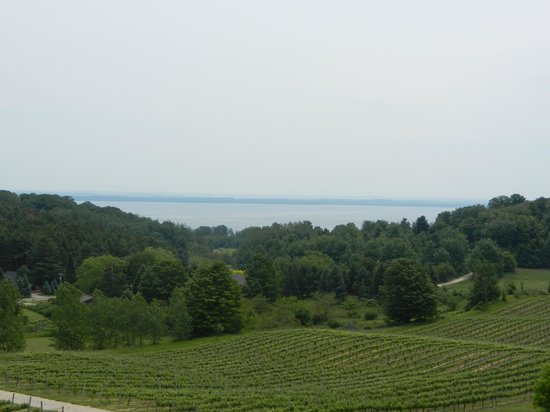 Chateau Chantal Winery & Tasting Room: What a View