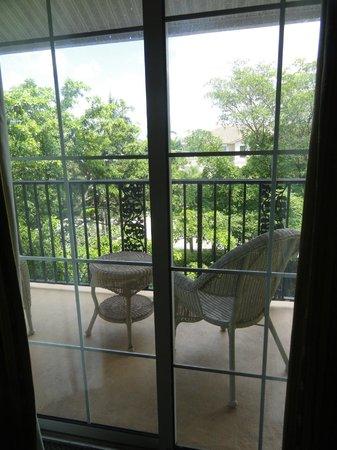 Trianon Old Naples: Corner Room 316 - Balcony