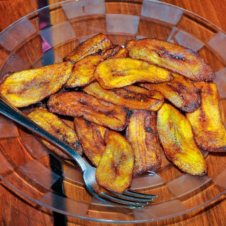 South Sound, Virgin Gorda : Fried Plantain
