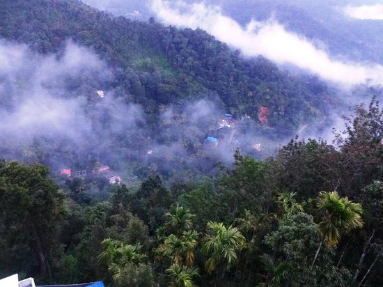 The Edge Munnar: a beautiful  view of nature from balcony