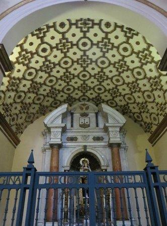 La Catedral Primada: Ceiling detail