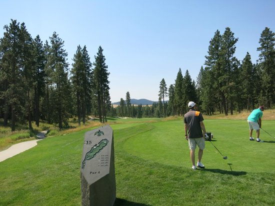 Coeur D'Alene Casino Resort Hotel: Golfing