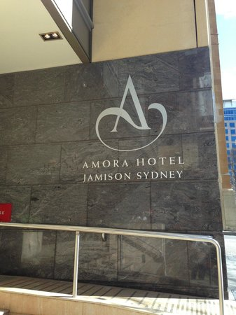 Amora Hotel Jamison Sydney: entry