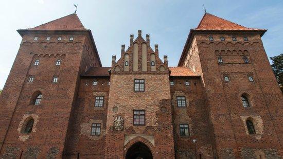 Województwo podlaskie, Polska: Nidzica Castle