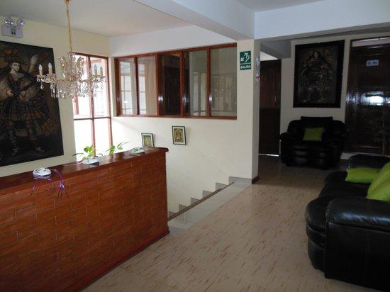 Hotel Sonnenthal Cusco: Upstairs Hallway