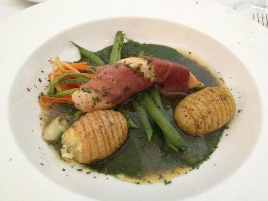 Hacienda San Jose Pachul: The chicken was superb and the vegetables perfect