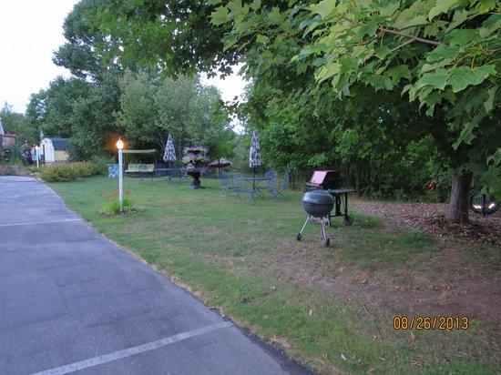 Ephraim Motel: Picnic area