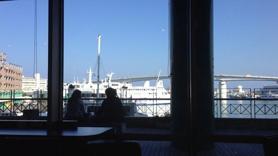 Tomarin : カフェからの眺め