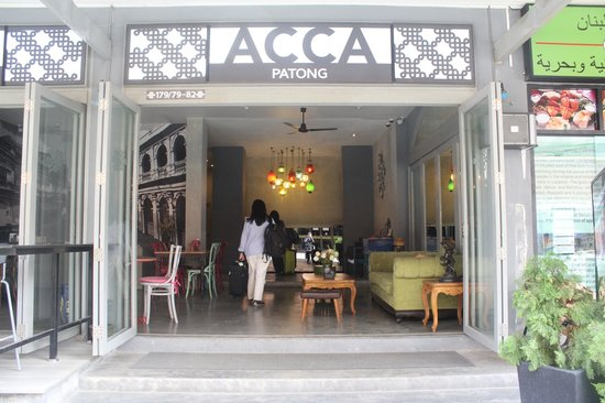 Acca Patong: Entrance of Acca