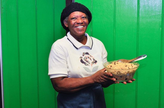 "South Sound, Virgen Gorda: Sugar Apple's Owner and Chef - Ask for ""Mom""!"
