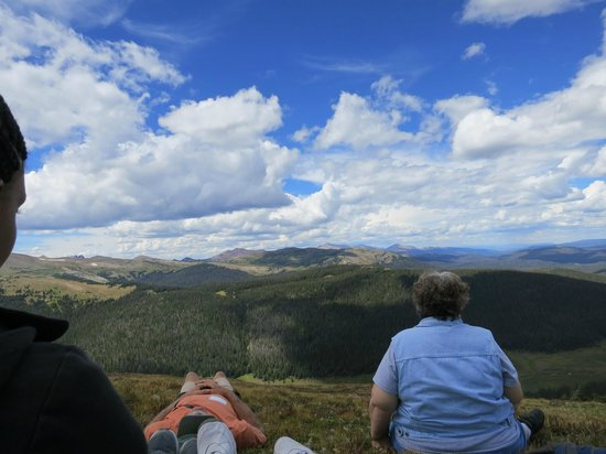 Rocky Mountain Conservancy Tours: great view