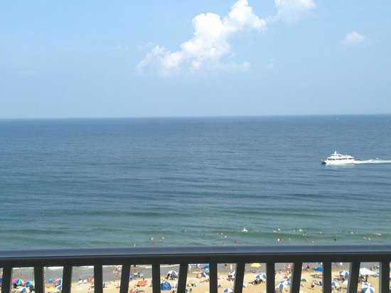 Hilton Virginia Beach Oceanfront : My ocean view