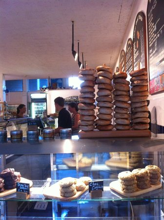 George & Davis: Bagels for savoury lunches