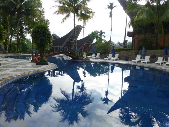 Toraja Heritage Hotel: Nice swimming pool