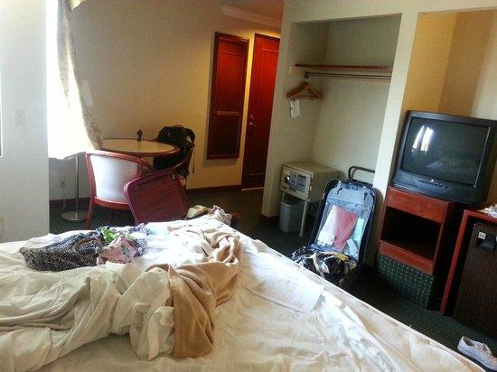 Metro Plaza Hotel: Dubbelrummet