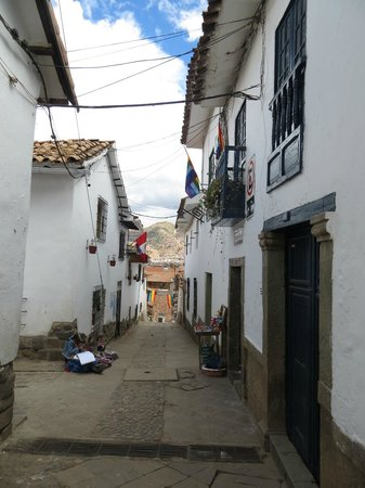 Second Home Cusco : On the same street as Second Home