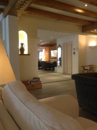Hotel Edelweiss Gerlos: ontvangst ruimte