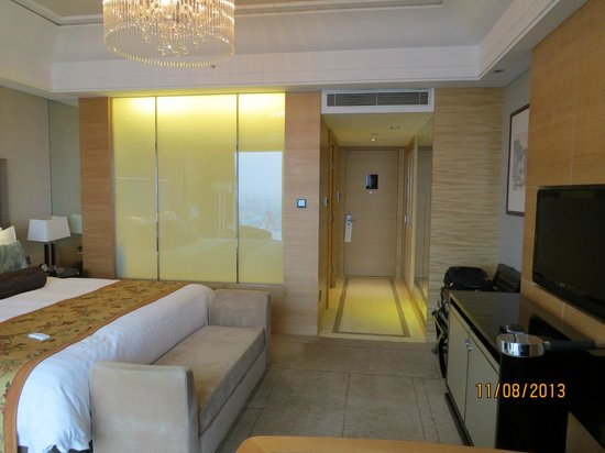 Wyndham Grand Plaza Royale Oriental Shanghai: Delux King size room, 23rd floor