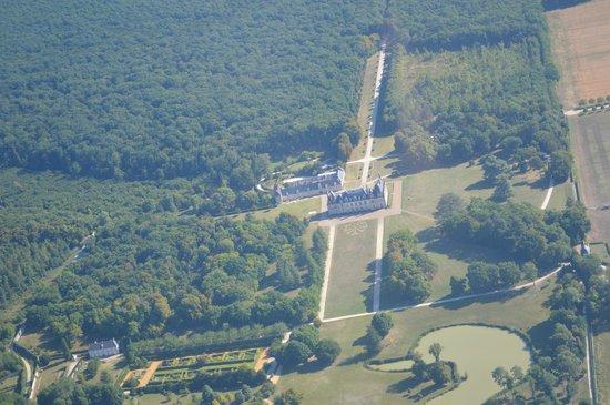 Air Club Blois Vendome: vue du ciel