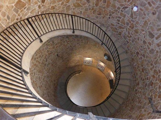 Castell de Sant Joan (Sant Joan Castle) : Keep staircase