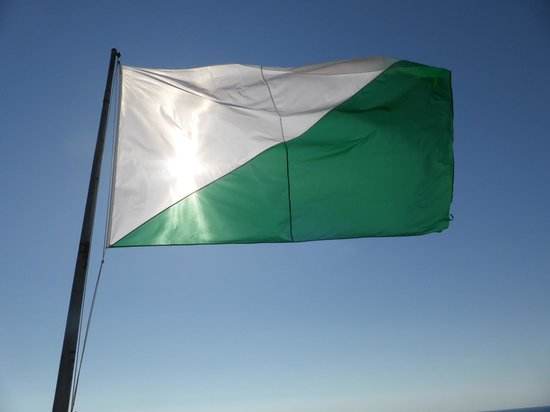 Castell de Sant Joan (Sant Joan Castle): Keep flag