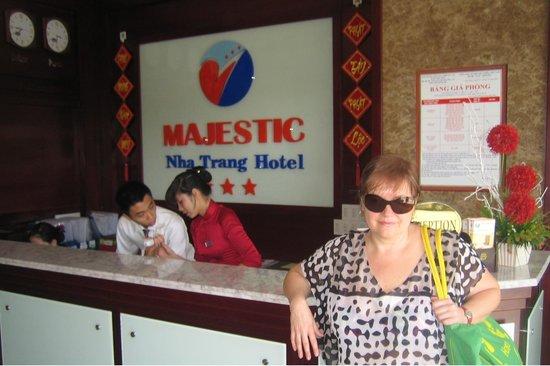 Majestic Nha Trang Hotel : март 2013