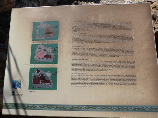 Castell de Sant Joan (Sant Joan Castle) : History