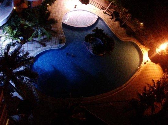 Saigon Ninhchu Hotel & Resort: Saigon Ninh Chu Swimming Pool, view from 7th floor