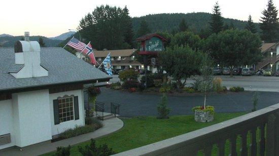Der Ritterhof Motor Inn: View from hotel room